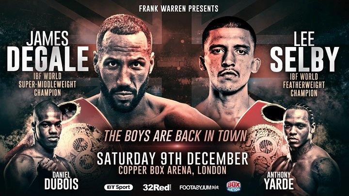 James DeGale Lee Selby Boxing News British Boxing