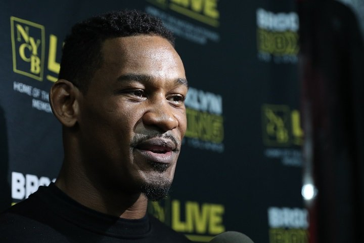 Daniel Jacobs Eddie Hearn Luis Arias Boxing Interviews Boxing News