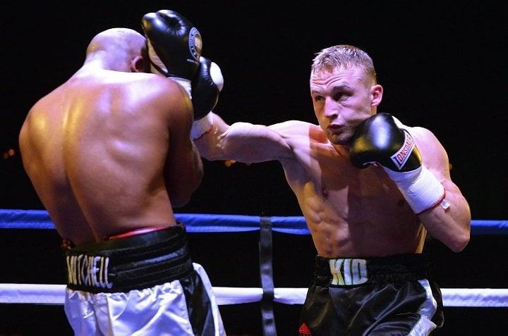 Damon Jones JJ Metcalf British Boxing Press Room