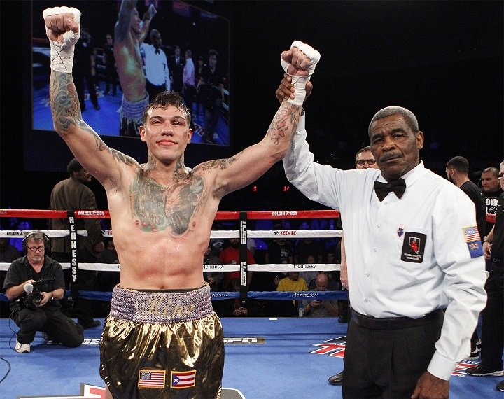 Gabriel Rosado Glen Tapia Boxing News Boxing Results