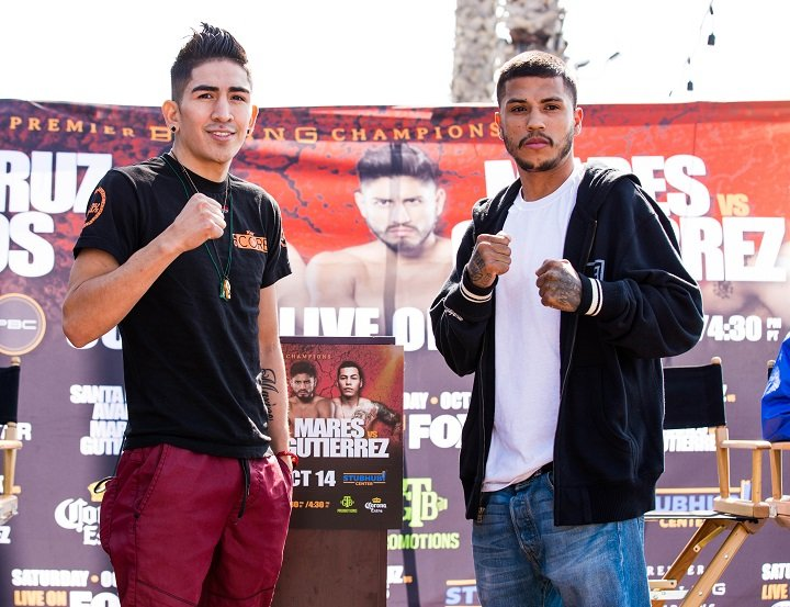 Chris Avalos - Fighters entering the ring for Saturday's Premier Boxing Champions on FOX and FOX Deportes tripleheader event went face-to-face at the final press conference Thursday before they compete at StubHub Center.