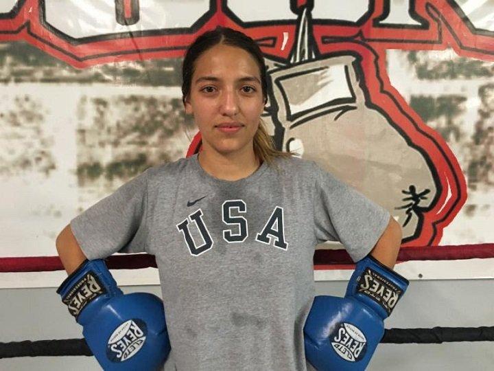 Jordan Aguilar Las Vegas' P4P Boxing Program Leslie Soto Press Room