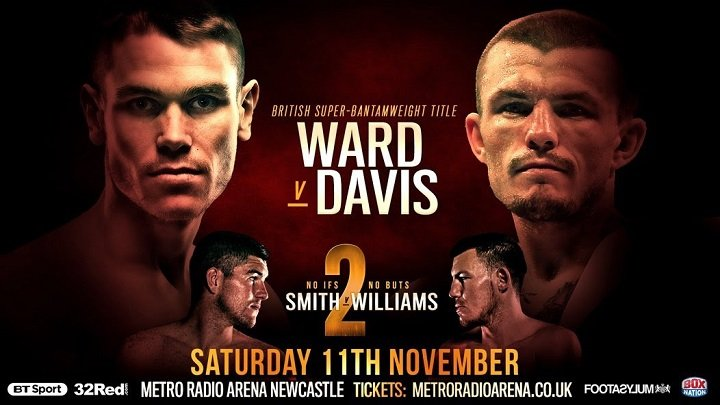 Sean Davis Thomas Patrick Ward British Boxing Press Room