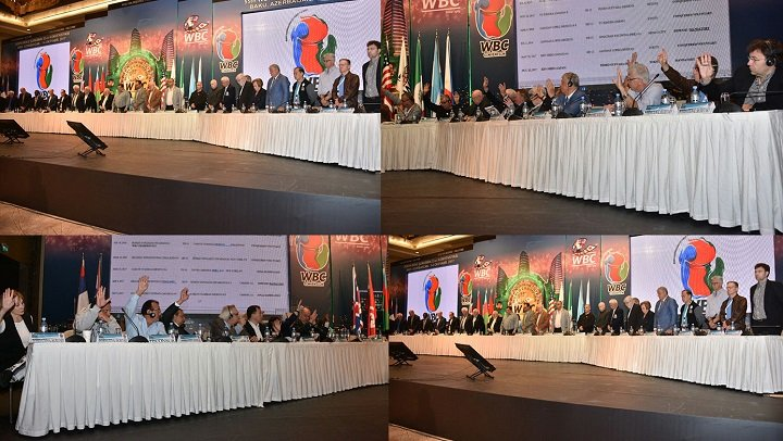 - At the fifty fifth World Boxing Council Convention, this year in Baku, Azerbaijan, the Board of Governors discussed and decided mandatory defences for the Champions atop each weight category.