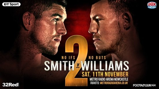 Liam Smith Liam Williams Boxing News British Boxing