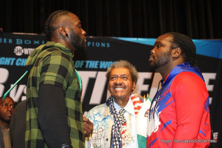 Wilder vs. Stiverne 2: A Necessary Evil