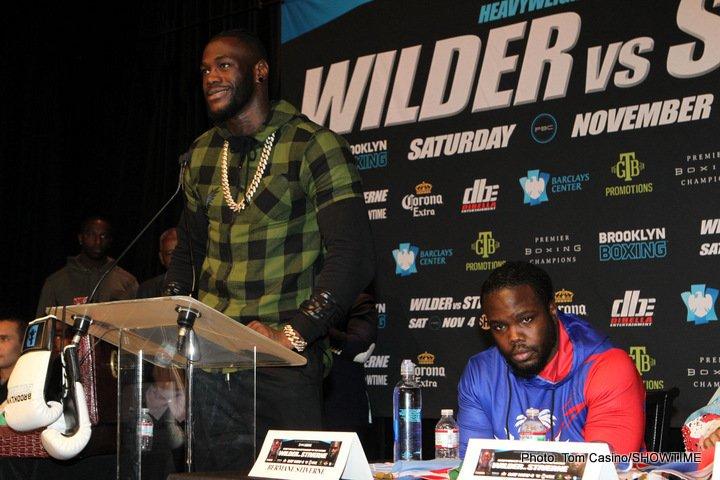 Bermane Stiverne Deontay Wilder Boxing News