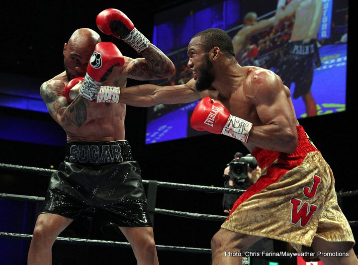 Ishe Smith Julian Williams Boxing News Boxing Results
