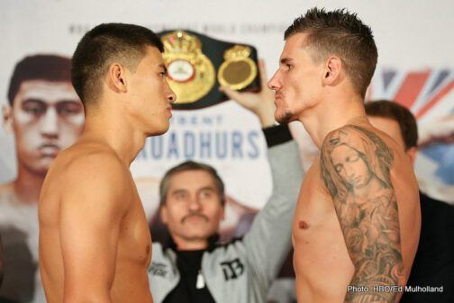 Dmitry Bivol - Saturday's HBO Boxing After Dark® telecast begins live at 5:45 p.m. ET/PT from the Salle Medecin Monte Carlo, coupled with a primetime evening replay at 9:45 p.m. (ET/PT). Undefeated Dmitry Bivol will defend his title against Trent Broadhurst in a 12-round light heavyweight bout.
