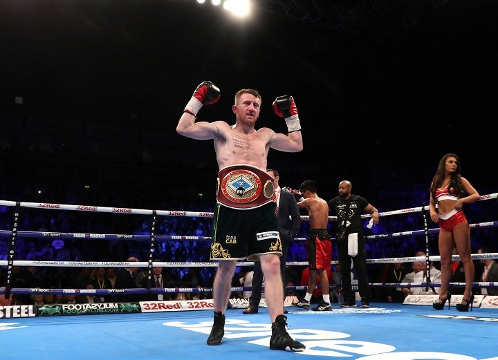 Paddy Barnes - Paddy Barnes has claimed his fifth professional win and the vacant WBO inter-continental flyweight title with a sixth-round stoppage victory over Nicaraguan Eliecer Quezada at Belfast's SSE Odyssey Arena.