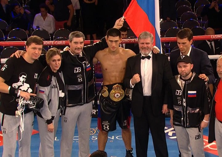 Agit Kabayel, Dereck Chisora, Jamie McDonnell, Scott Quigg - WBA light heavyweight champion Dmitry Bivol (12-0, 10 KOs) looked great in smashing Trent Broadhurst (20-2, 12 KOs) by a 1st round knockout on Saturday night in the Russian fighter's first defense of his title at the Salle Medecin in Monte Carlo, Monaco.