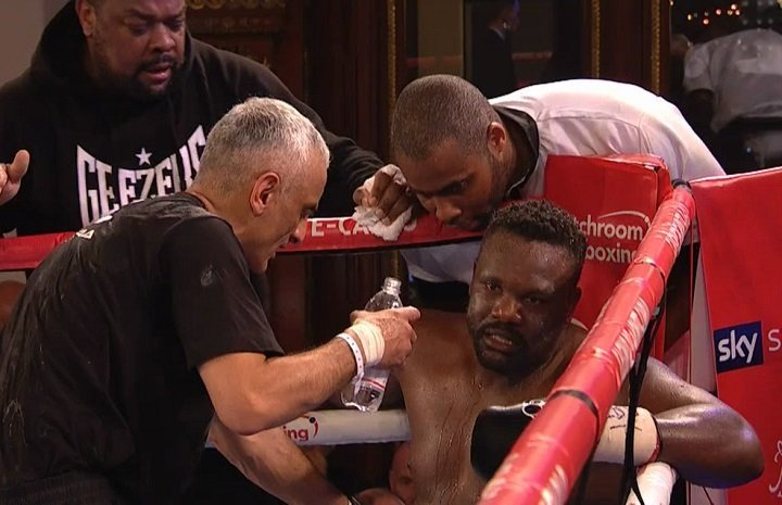 """Agit Kabayel decisions Dereck Chisora in European title defence; the end for """"Del Boy?"""""""