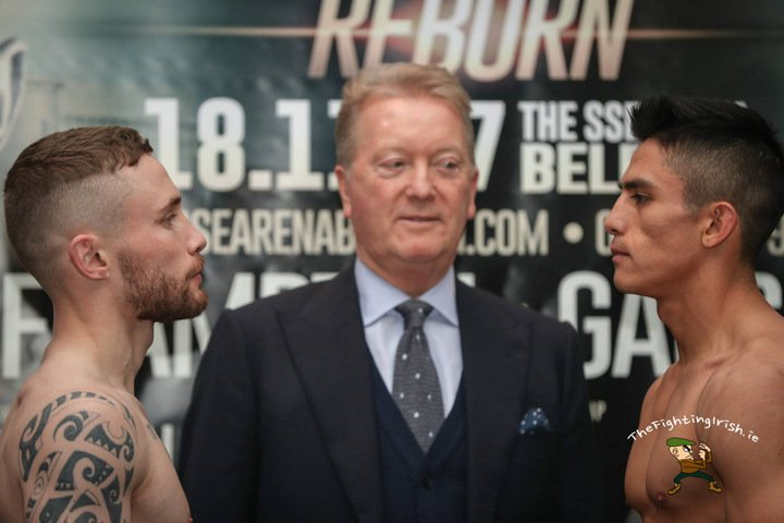Paddy Barnes - Carl Frampton insists that he has to win in style on his 'second coming' against Mexican Horacio Garcia at the SSE Odyssey Arena tonight in Belfast.
