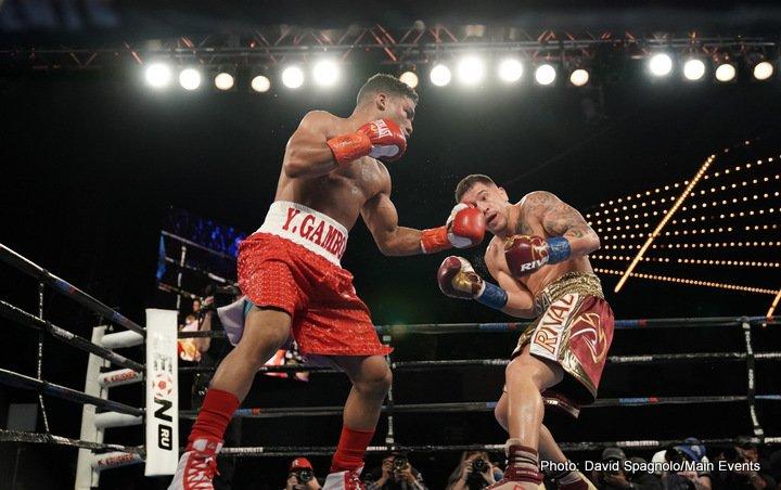 Jason Sosa Yuriorkis Gamboa Boxing News Boxing Results Top Stories Boxing