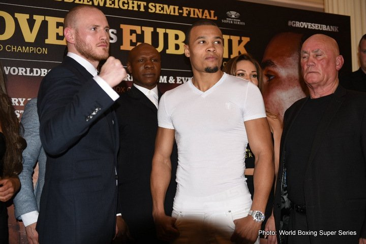 "Chris Eubank Jr, George Groves - In truth, the upcoming February battle between seemingly bitter British rivals George Groves and Chris Eubank Jr. doesn't mean all that much to US fans. No, this fight is a far, far bigger deal in Europe, the UK in particular. And with good reason. It was back in the glorious 1990s when Nigel Benn, Chris Eubank Snr and Michael Watson, household names all, fought one another in a fantastic series of fights – each of them on terrestrial, or, if you like, ""free"" TV."