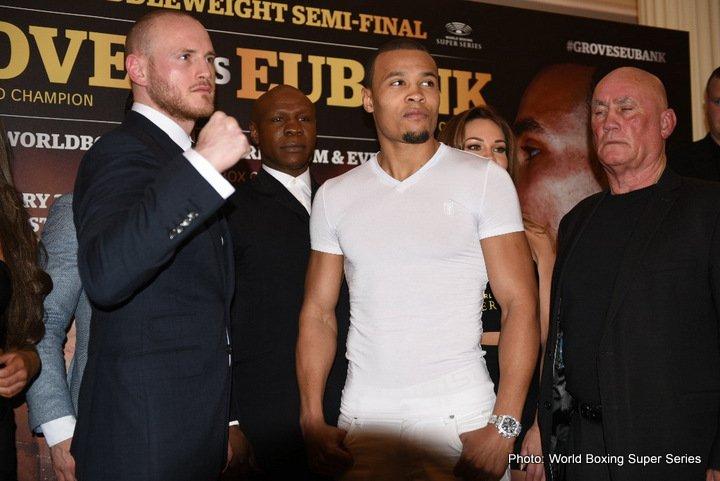 Chris Eubank Jr George Groves Boxing News British Boxing