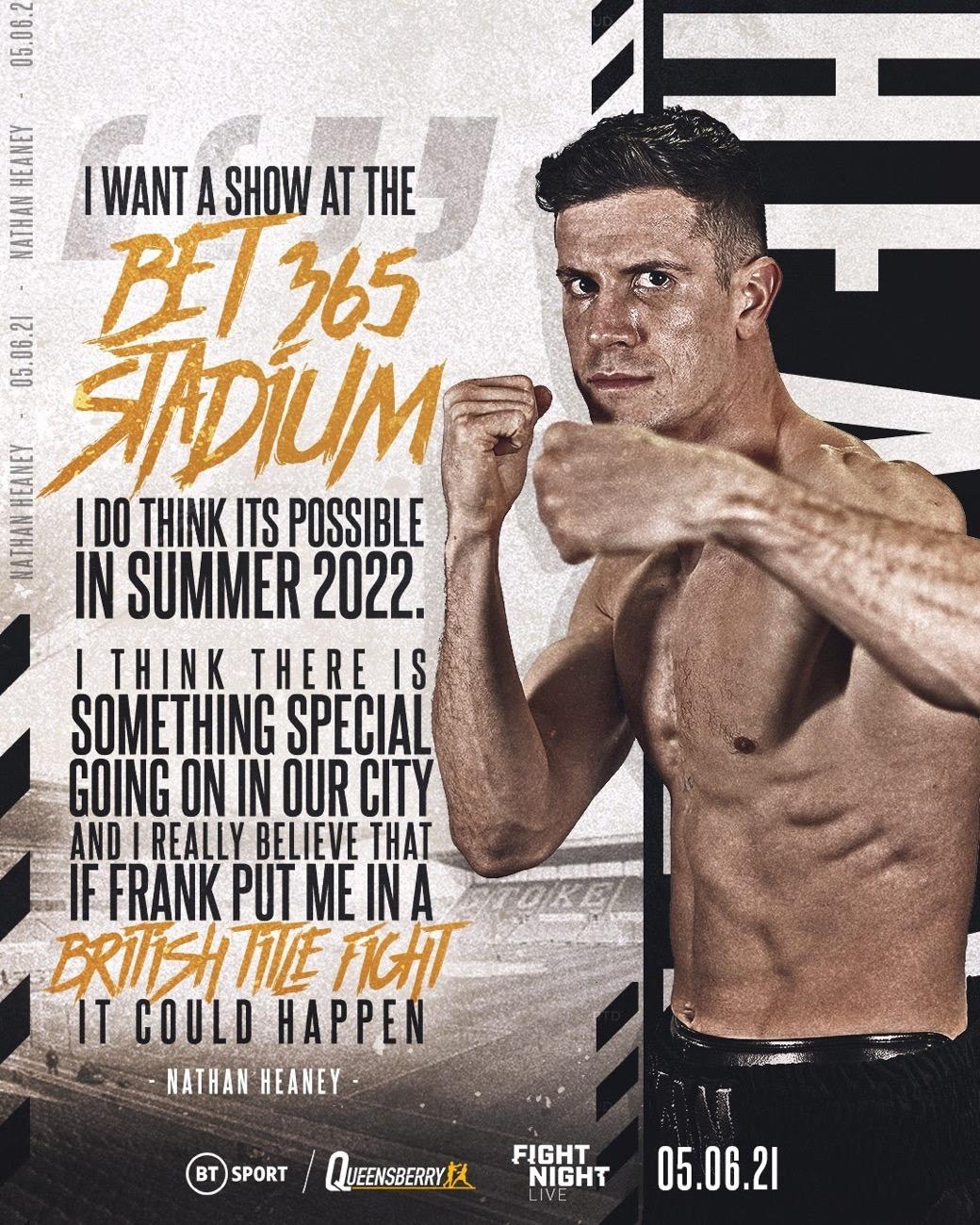 Nathan Heaney - British Boxing