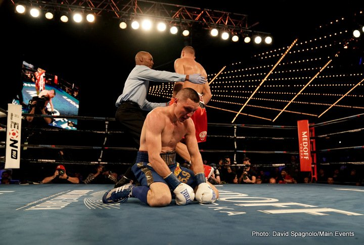 Sergey Kovalev Vyacheslav Shabranskyy Boxing News Boxing Results Top Stories Boxing