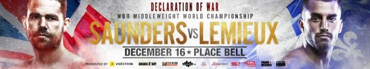 Billy Joe Saunders Cletus Seldin David Lemieux Yves Ulysses Jr. Press Room