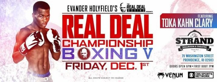 """- This Friday night, December 1, top cruiserweight prospect FABIO """"Stone Crusher"""" TURCHI, (12-0, 9 KO's), of Florence, Italy makes his highly anticipated U.S. debut against Detroit, MI veteran DEMETRIUS BANKS, (9-3, 4 KO's) from The Strand Ballroom and Theatre in Providence, Rhode Island and telecast live on CBS Sports Network (9:00 p.m. ET/6:00 p.m. PT)."""