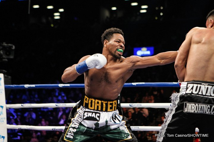 "Kenny Porter says neither Keith Thurman nor Danny Garcia wants to fight Shawn Porter; says Thurman ""faking"" injuries"