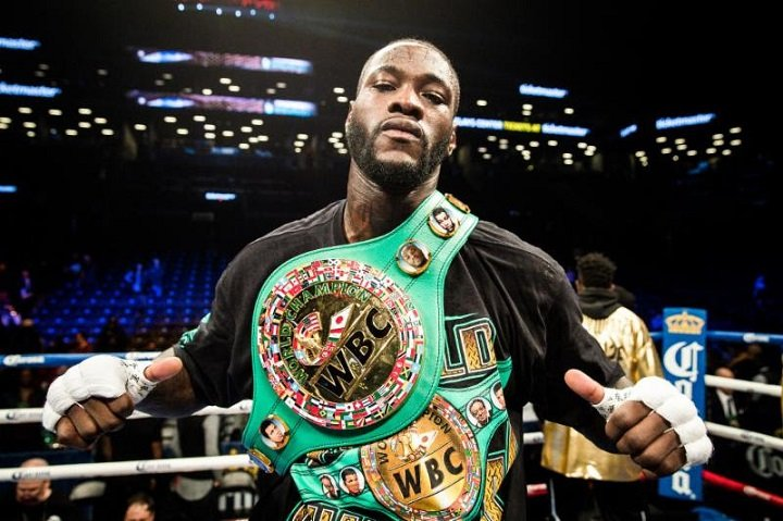 Anthony Joshua Deontay Wilder Boxing News Top Stories Boxing