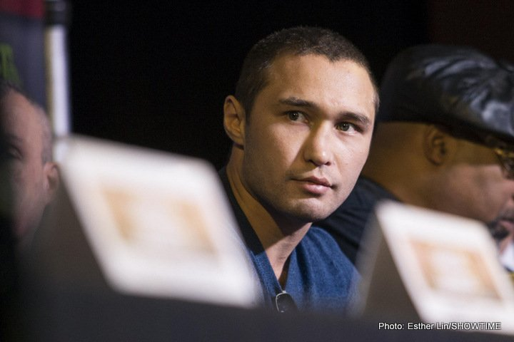 Lipinets thinks Mikey Garcia could lose power in moving to 140
