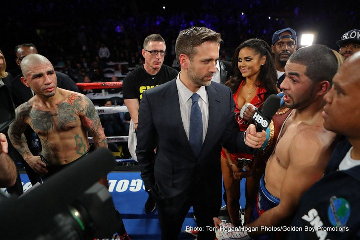 Miguel Cotto, Sadam Ali - Miguel Cotto (41-6, 33 KOs) came up short last Saturday night in losing to the younger 29-year-old Sadam Ali (26-1, 14 KOs) by a 12 round unanimous decision in their fight on HBO World Championship Boxing at Madison Square Garden in New York.