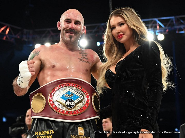 Antoine Douglas Gary O'Sullivan Boxing News Boxing Results