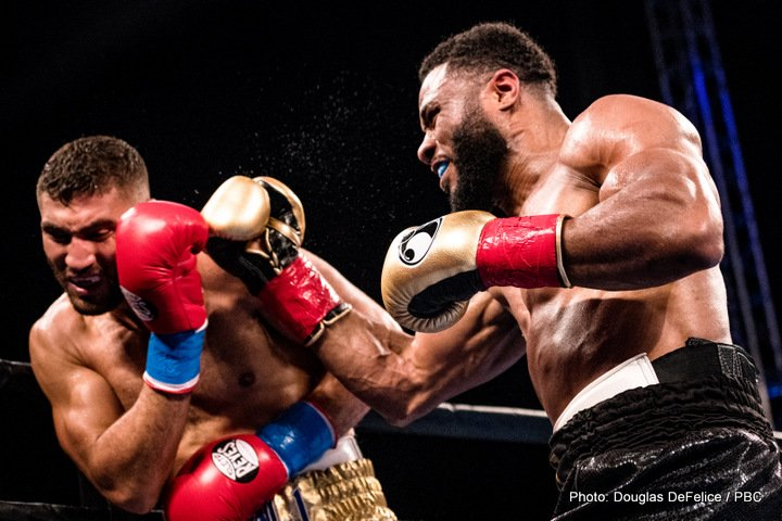 Ahmed Elbiali Jean Pascal Luis Ortiz Boxing News Boxing Results Top Stories Boxing