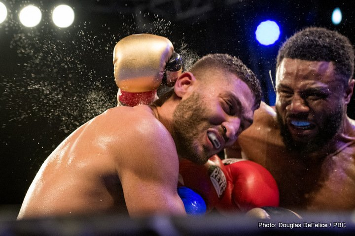 Ahmed Elbiali, Jean Pascal - Friday, December 8, 2017, a young talented prospect was out-boxed by a world-class veteran of the sport as Ahmed Elibiali (16-1-0, 13 KOs) fell to Jean Pascal (32-5-1, 19 KOs) in the sixth round of a scheduled ten-round bout at the Hialeah Park Casino in Hialeah, FL. The event was televised on FS1.