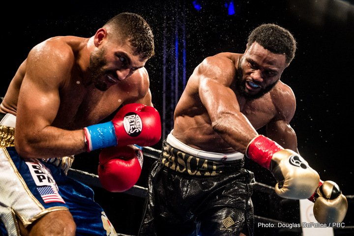 Ahmed Elbiali - Former light heavyweight world champion Jean Pascal (32-5-1, 19 KOs) scored an impressive stoppage of previously unbeaten Ahmed Elbiali (16-1, 13 KOs) in the sixth round of the main event of a special Friday night edition of Premier Boxing Champions TOE-TO-TOE TUESDAYS on FS1 and BOXEO DE CAMPEONES on FOX Deportes at Hialeah Park in Miami, Florida.