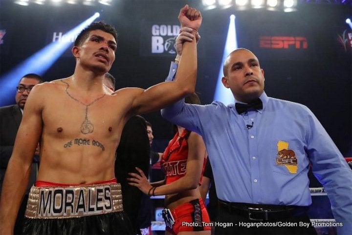 Carlos Morales Boxing Results Press Room