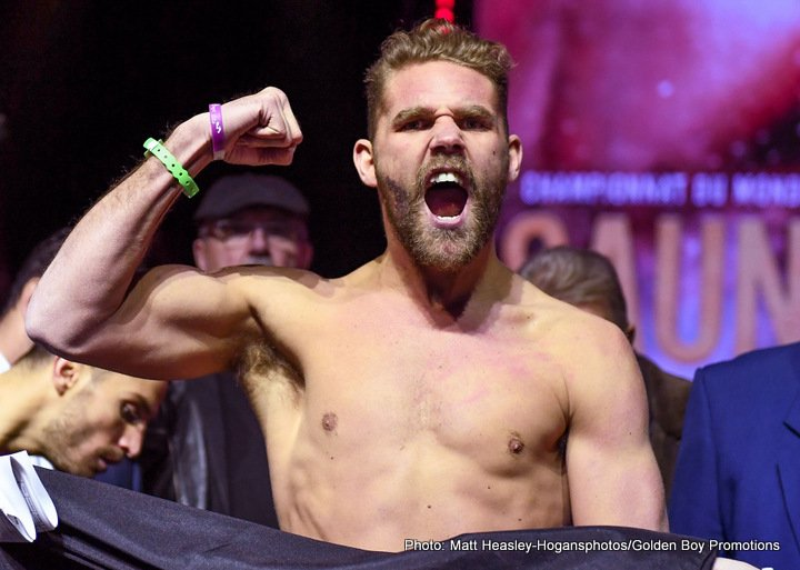 Billy Joe Saunders, David Lemieux and some serious bad blood to see out boxing's year (and a prediction)