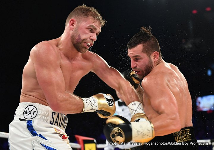 Billy Joe Saunders confident he'll outbox Golovkin