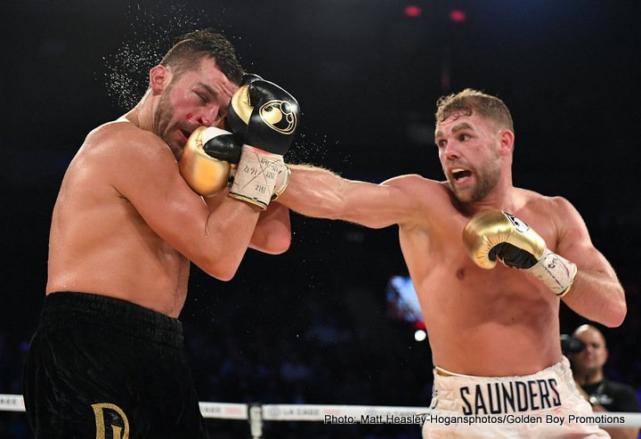 Billy Joe Saunders David Lemieux Boxing News Boxing Results Top Stories Boxing