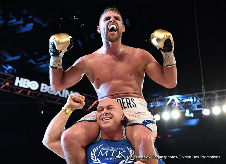 Billy Joe Saunders - So what next for reigning, undefeated, WBO middleweight champ Billy Joe Saunders? With last night's hugely impressive display in totally outclassing a dangerous David Lemieux, a fighter Saunders defused, the gifted southpaw certainly put himself in a great position. Saunders cannot be ignored by the elite of the elite any longer, and it seems the big fights with either Gennady Golovkin or Canelo Alvarez, or maybe even both, will have to come.