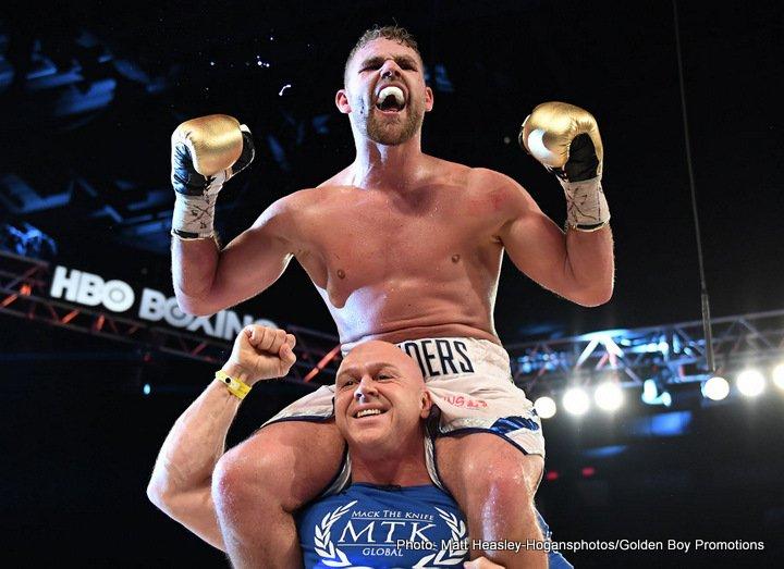Billy Joe Saunders Boxing News