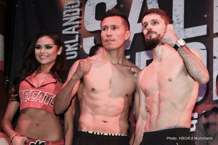 Francisco Vargas, Miguel Roman, Orlando Salido, Stephen Smith, Tevin Farmer - Saturday's HBO Boxing After Dark® telecast begins at 10:20 p.m. ET/PT. Opening the telecast from Mandalay Bay Events Center in Las Vegas is Francisco Vargas battling Stephen Smith in a 10-round super featherweight fight.