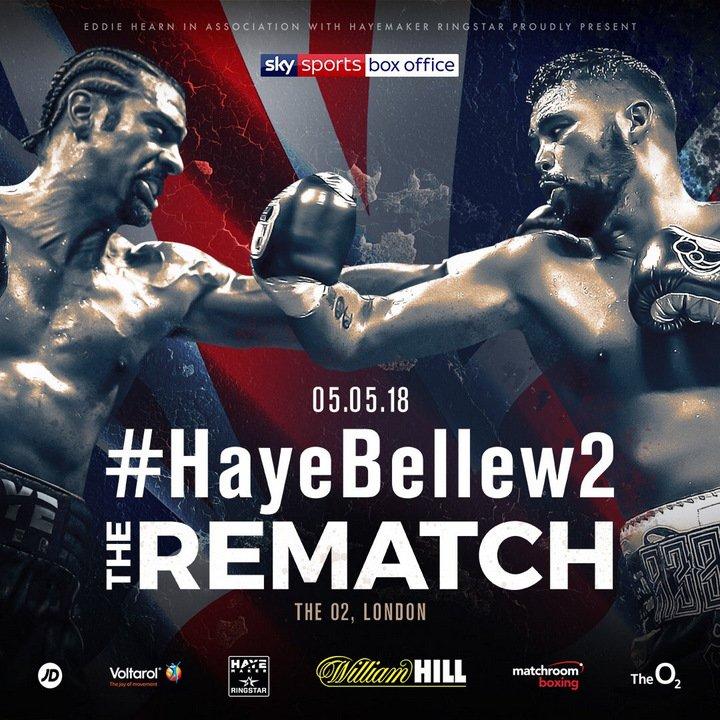Tony Bellew vs. David Haye 2 on 5/5