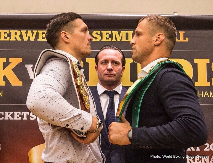 Aleksandr Usyk Mairis Briedis Boxing News Top Stories Boxing