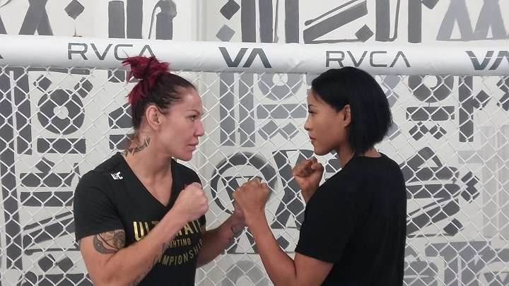 Cecelia Braekhus Cris Cyborg Holly Holm Press Room