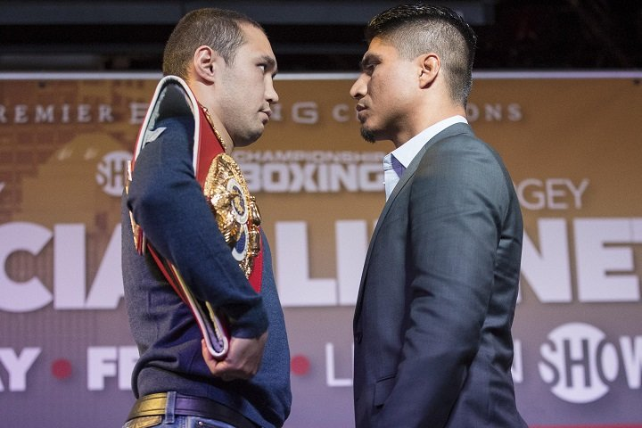 Mikey Garcia and Sergey Lipinets quotes for LA press conference