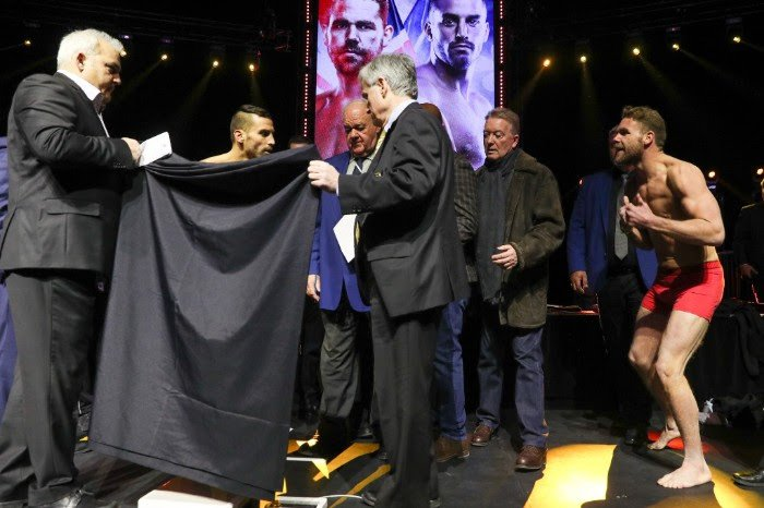 Billy Joe Saunders - Billy Joe Saunders believes he has already won a battle of mind games with David Lemieux following a fiery weigh-in ahead of their WBO world middleweight title showdown in Quebec.