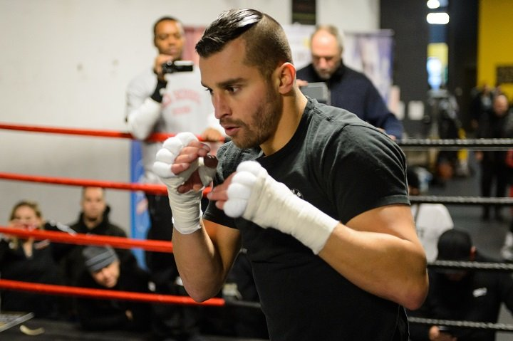 Billy Joe Saunders - Canadian contender David Lemieux is looking to take Billy Joe Saunders to task this Saturday in his hometown, and tells his opponent that he's going give him the hardest 12 rounds in his career, live on BT Sport 2 HD and BoxNation.