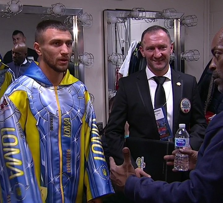 Guillermo Rigondeaux, Vasyl Lomachenko - He just keeps getting better. Another Saturday night. Another championship fight. Another easy bell to bell victory. After the way he handled Guillermo Rigondeaux tonight you have to wonder if anyone can beat him. Or even challenge him.