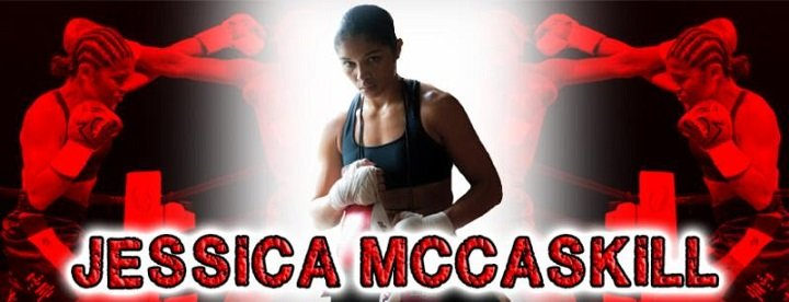 Jessica McCaskill - Christmas comes a little early this year for hard-punching Warriors Boxing lightweight Jessica 'CasKILLA' McCaskill.