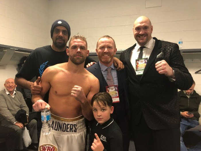 Billy Joe Saunders, Martin Murray - Stablemates Billy Joe Saunders and Martin Murray went head to head today ahead of their all-MTK Global world-title fight on April 14 in London