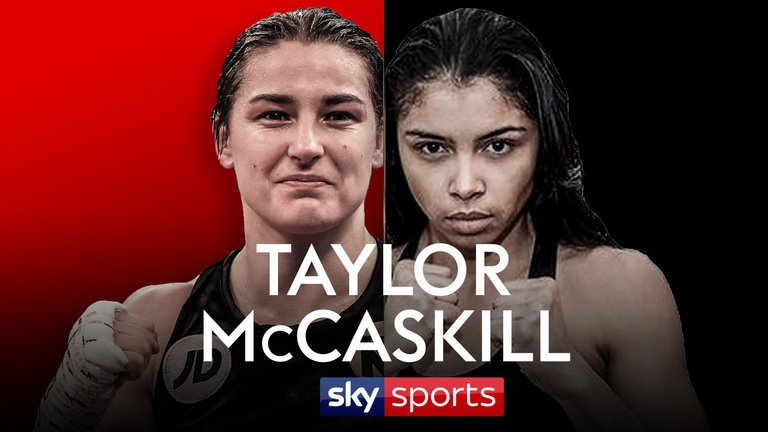Jessica McCaskill - Jessica McCaskill is to face Katie Taylor this week at York Hall in London 13th December 2017. This really is a very interesting transatlantic contest in women's boxing, and will be the biggest fight of the year. Katie Taylor is the pound for pound number one female fighter, and McCaskill is ready to take that scalp.