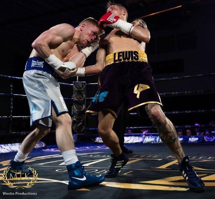 Lewis Paulin Stephen Tiffney Boxing Results British Boxing Press Room